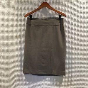 Banana republic wool blend pencil skirt.